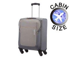 Mała walizka AMERICAN TOURISTER 84A*002 szara + GRATIS