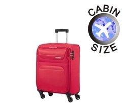 Mała walizka  AMERICAN TOURISTER 94A*003 czerwona