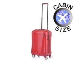 Mała walizka MARCH 3300-02-52 czerwona VISION
