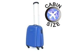 Mała walizka PUCCINI ABS02 C niebieska