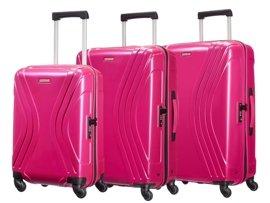 Zestaw trzech walizek AMERICAN TOURISTER 91A*90004 różowy